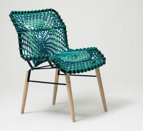 Balık Ağı Trendi 2021: Balık Ağı Sandalye Tasarımı