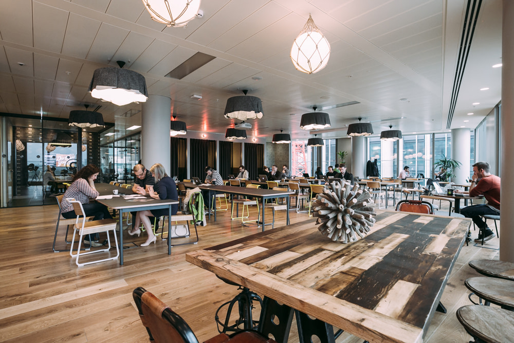 London WeWork South Bank Lounge