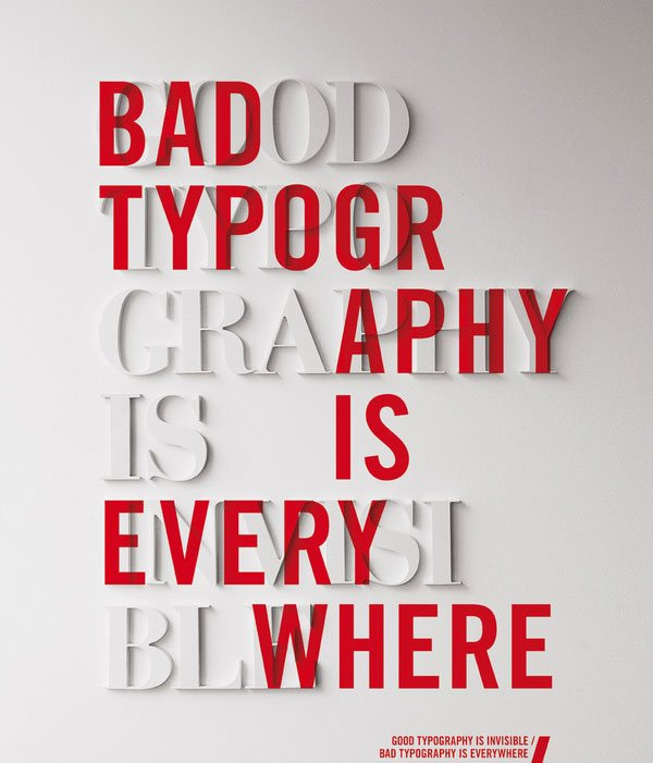 2021 Tipografi Trendleri: Rölyef görünümlü kaligrafik tasarım