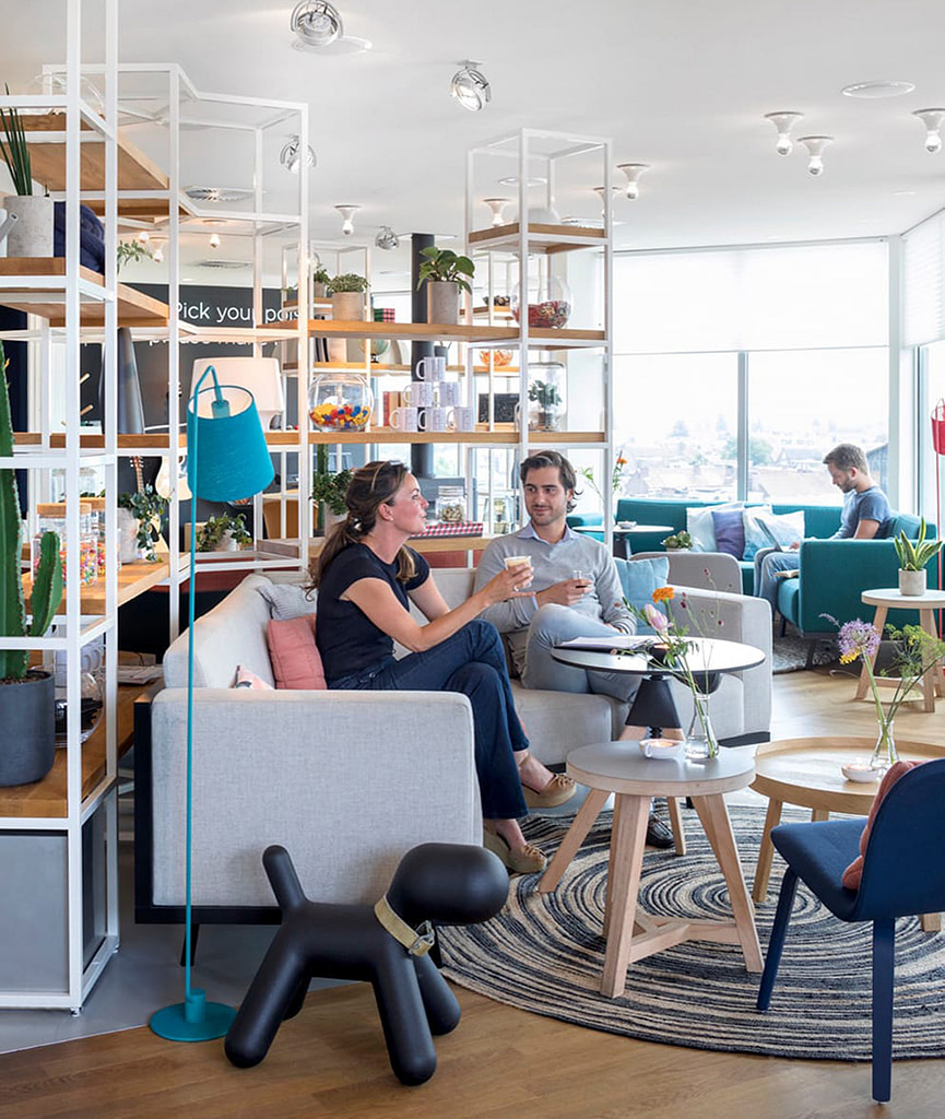 zoku amsterdam hotel coliving shared space interior